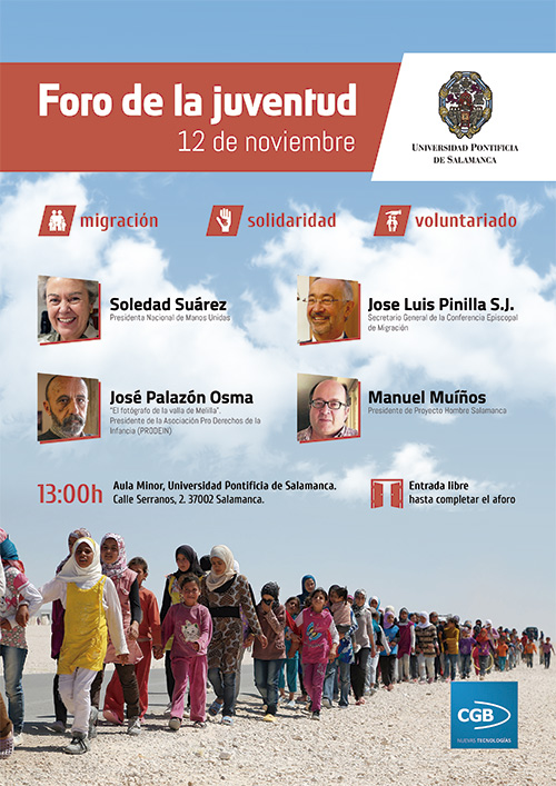 Cartel Foro Juventud 2015