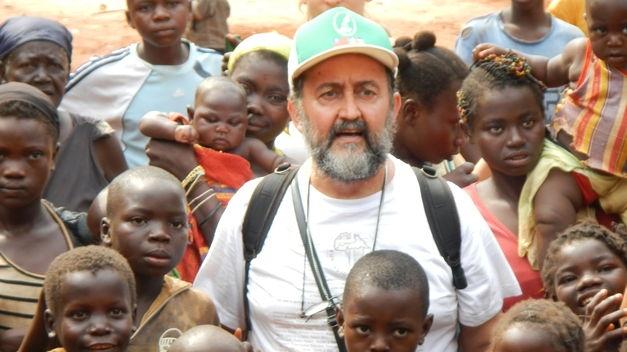 Juan José Aguirre en Centroáfrica